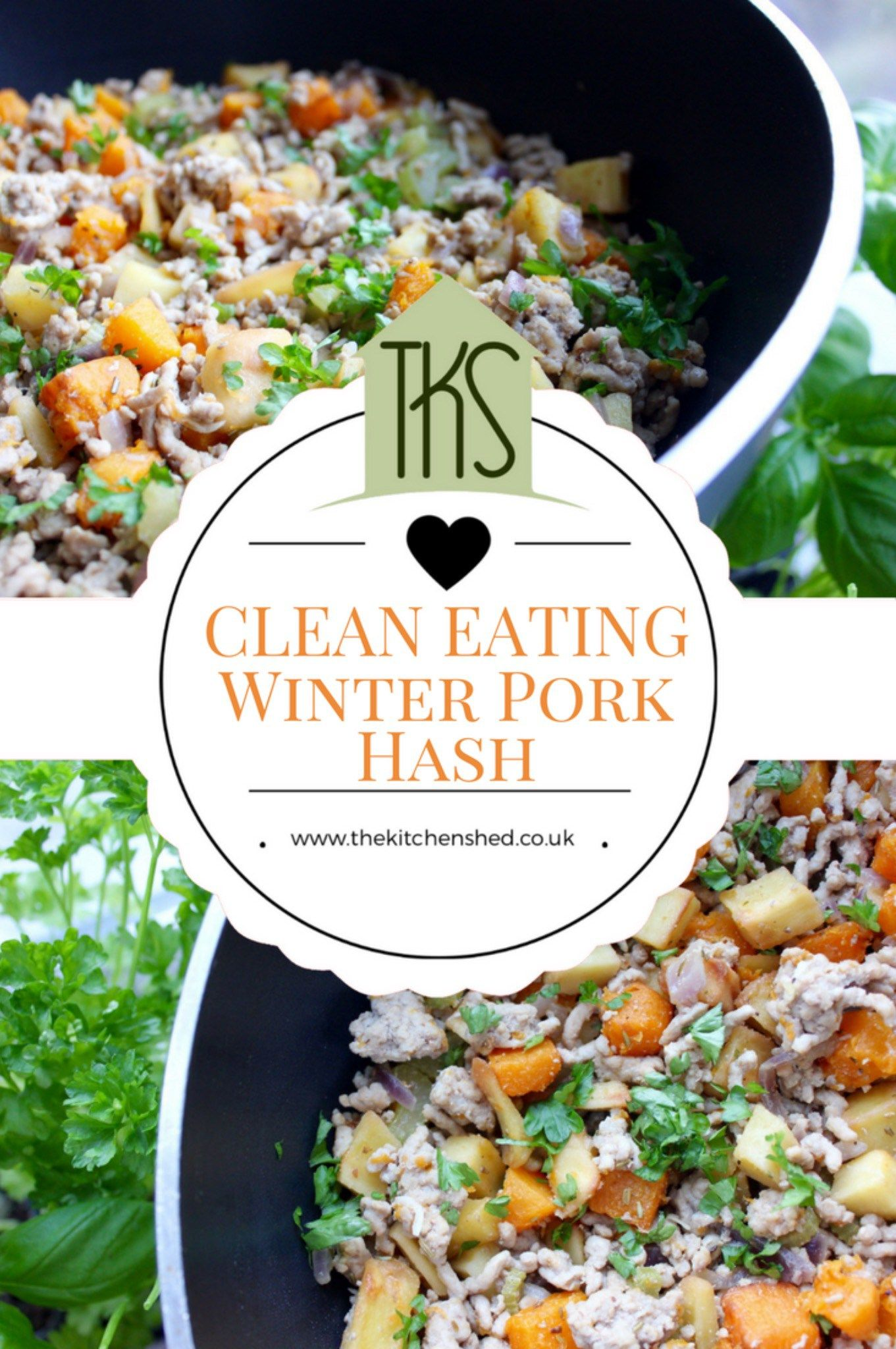 Clean eating winter pork hash recipe clean eating pork and clean eating winter pork hash the kitchen shed forumfinder