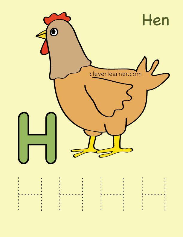Letter H Is For Hen Preschool Worksheets Alphabeth Preschool Letterh Worksheets Lettering Alphabet Sounds Preschool Worksheets Letter h worksheets for kindergarten pdf