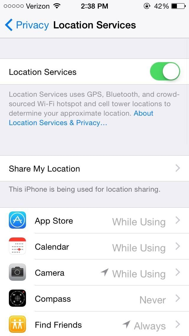 How To 14 Ios 8 Privacy Settings Everyone Needs To Understand