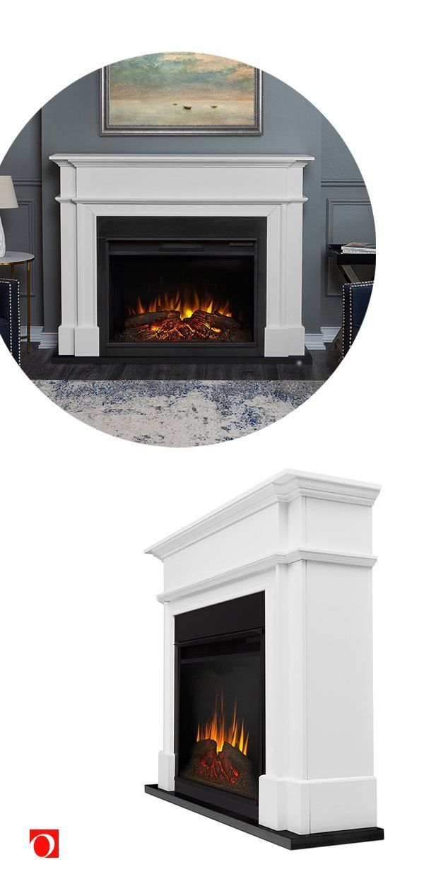 Warm up your living room with Overstock's amazing selection of beautiful electric fireplaces, an easy way to update your space! #fireplace #electricfireplace #livingroom #livingroomessentials #livingroomupdate #livingroomdecor #livingroomdesign #livingroomessentials #homegoods #winterhome #homewarmers #heater #electricheater #fireplacespace #classicfireplace #cozyfireplace