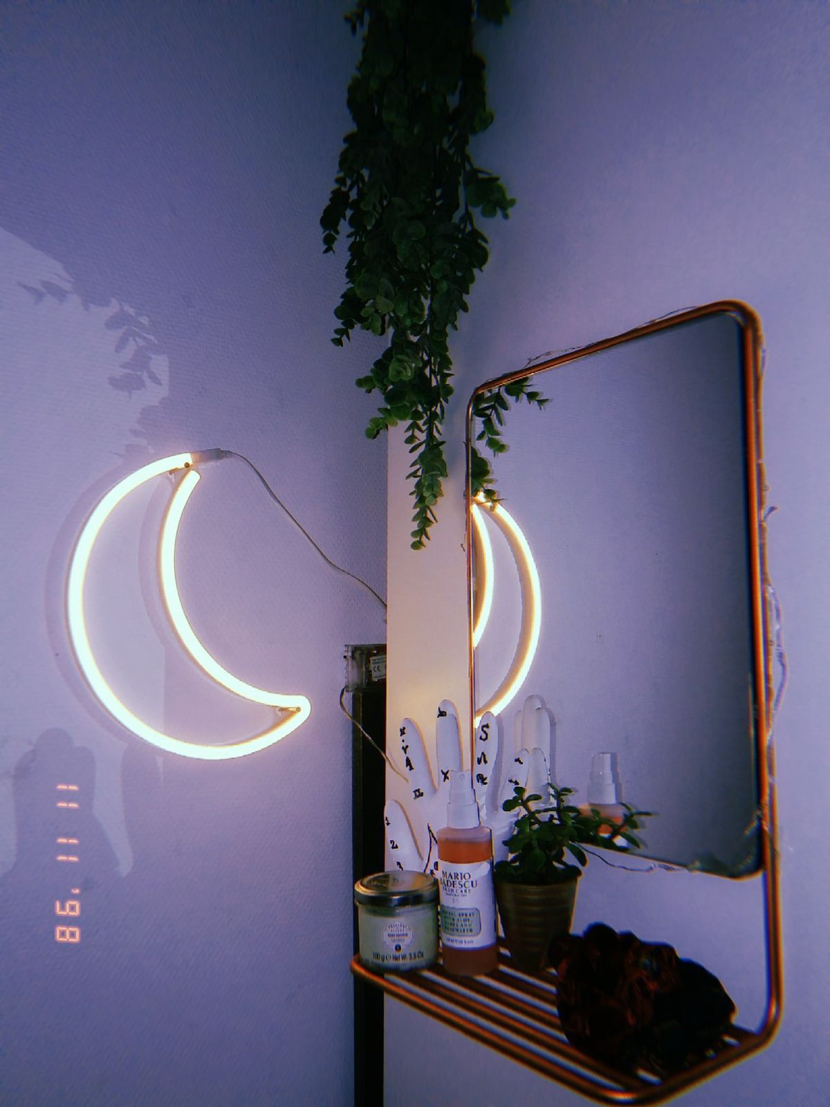 Vintage Neon Light Room Decor Bedroom Inspiration Aesthetic