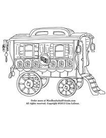 Caravan Coloring Page – #missbonitabooks #caravan # ...