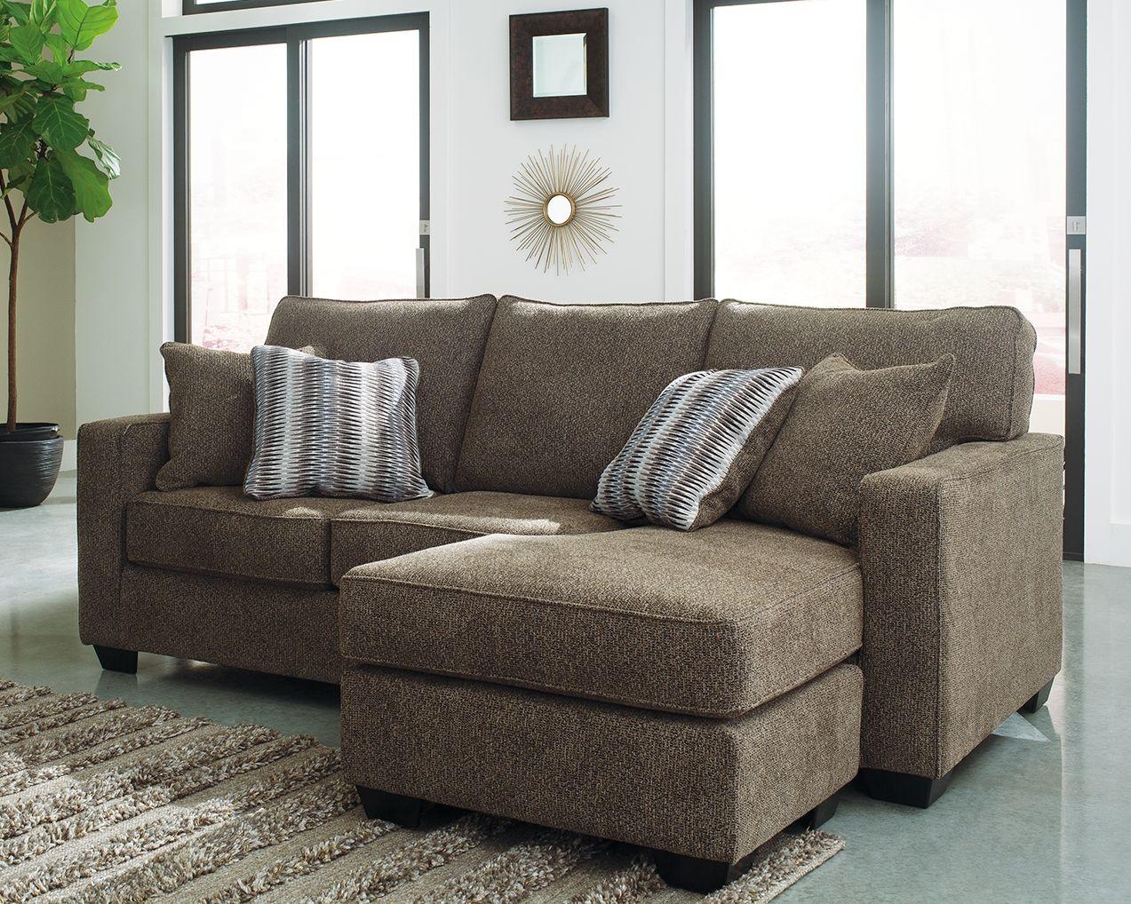 Ladale Sofa Chaise Granite Ashley Furniture Furniture Chaise Sofa