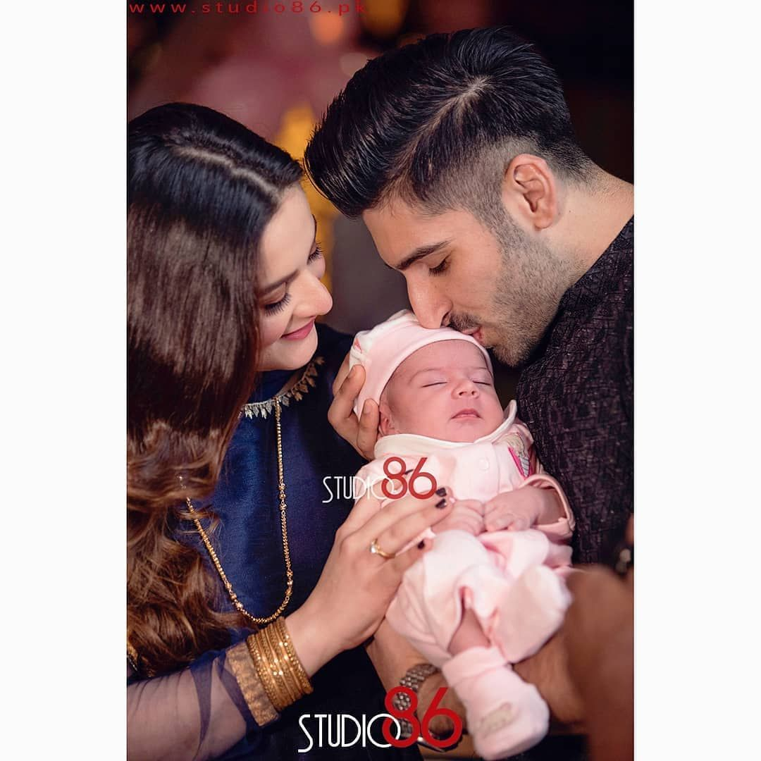 Aiman Khan Shared Beautiful Pictures of Her Daughter Amal Muneeb ...