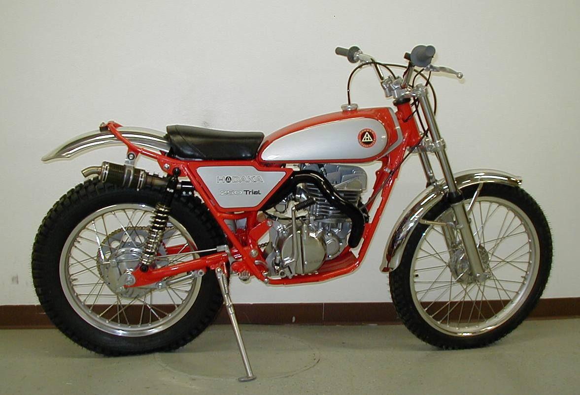 I Never Knew Hodaka Made A Trials Bike Not Sure Of The Year Beautiful Bike Trial Bike Vintage Bikes Vintage Motocross