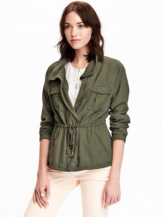 90fe0fb148c Women s Linen-Blend Field Jackets