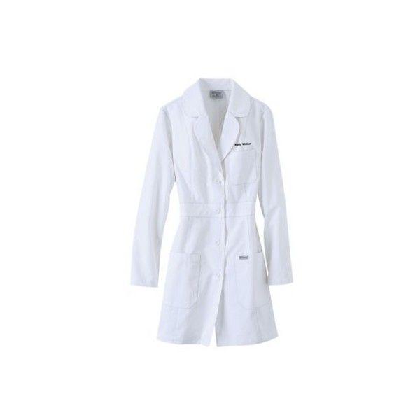 Greys Anatomy 34 Inch 3 Pocket Lab Coat Liked On Polyvore