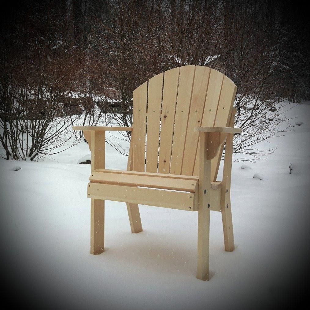 Adirondack Arm Chair plans coming soon !!!