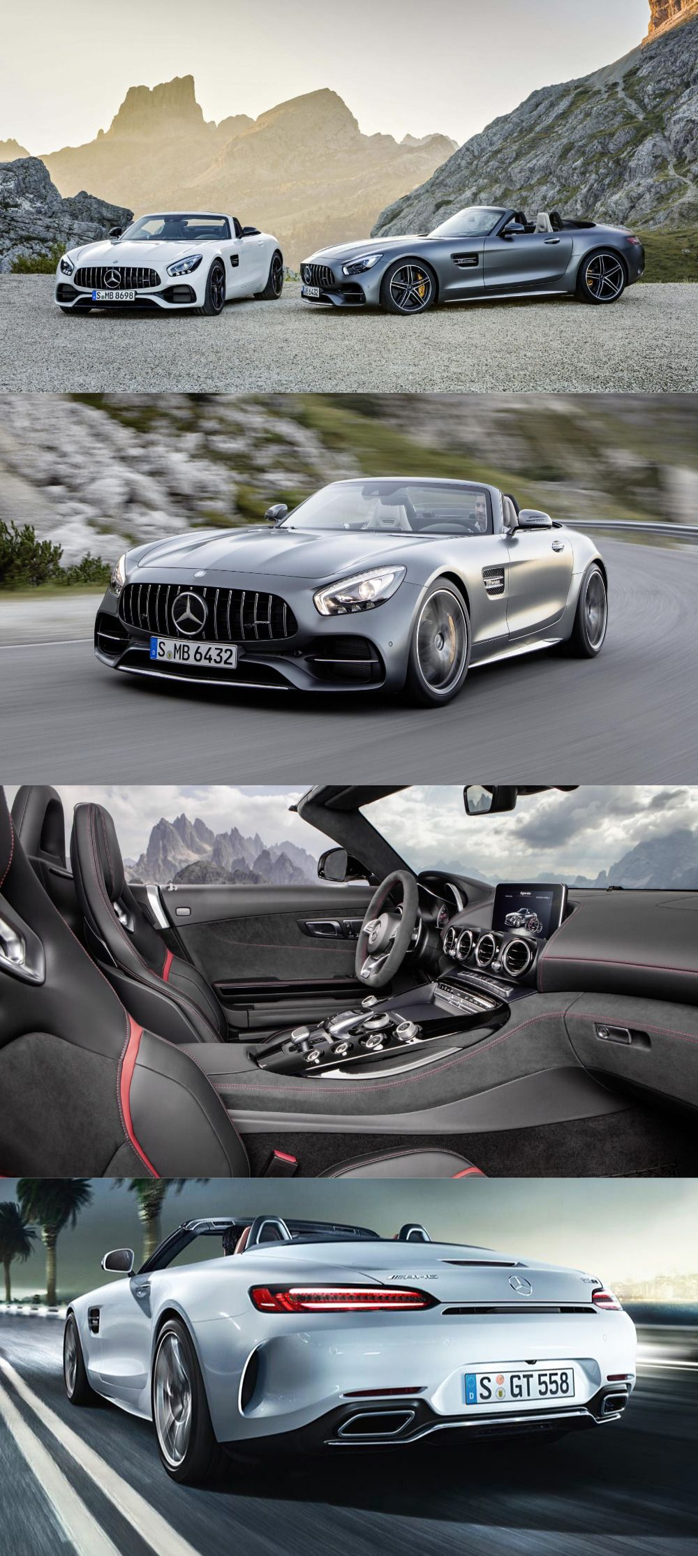 Mercedes Pulls Wraps off AMG GT and AMG GT C Roadster