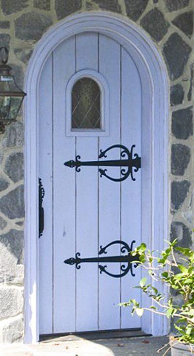 Custom Old World Cottage Door Solid Wood Entry Doors By Decora Traditional Front Doors Doors Arched Doors