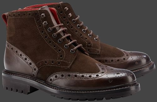 Wellensteyn Redmont, FullGrainLeather, Darkbrown/Darkbrown