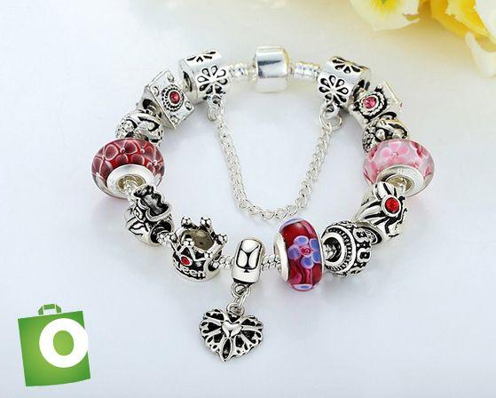 9a3b7d7c24e6 Preciosas pulseras estilo #Pandora. Incluye todos los charms. 30mil ...