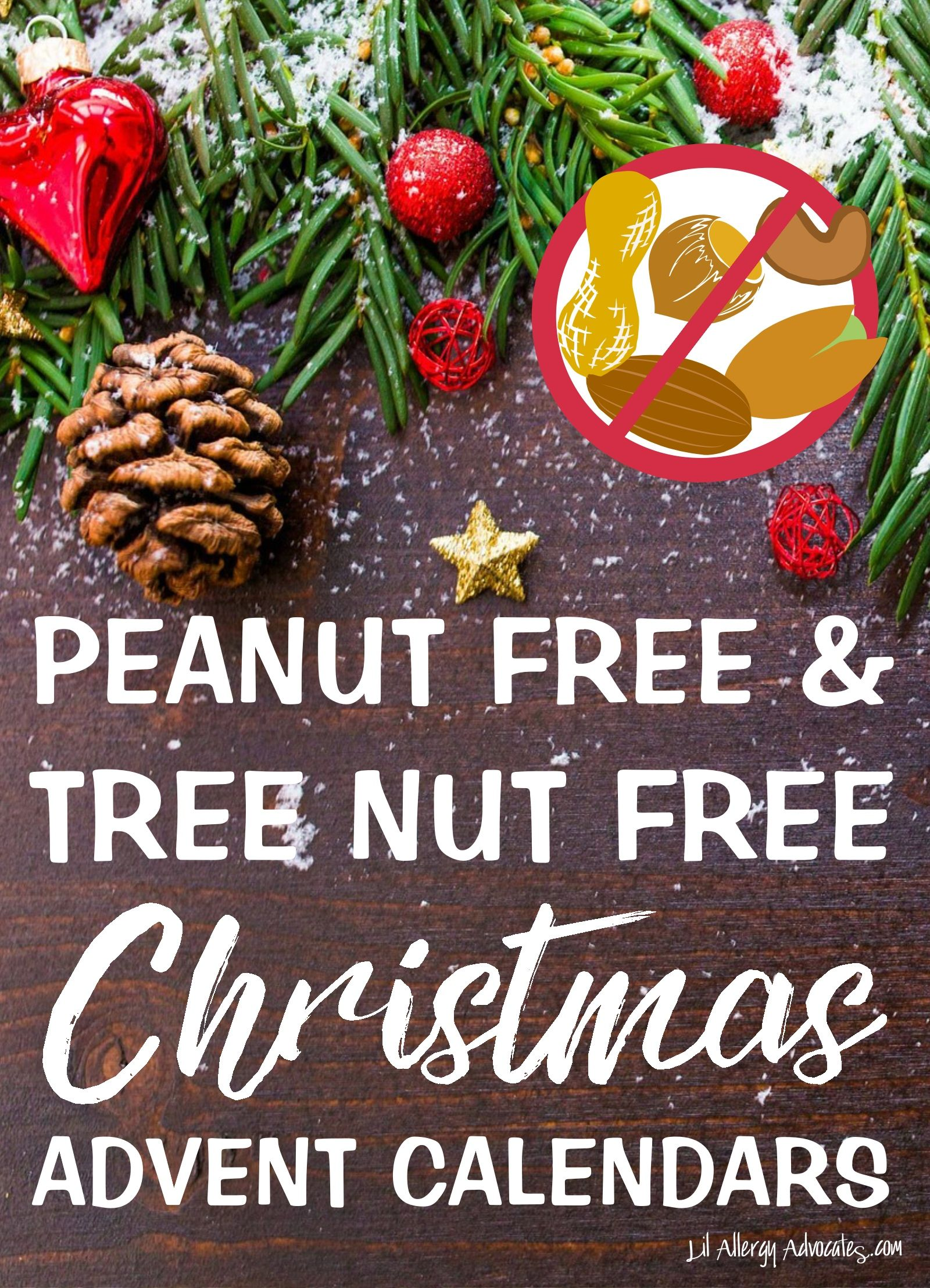 Nut Free Advent Calendars For Peanut And Tree Nut Allergies