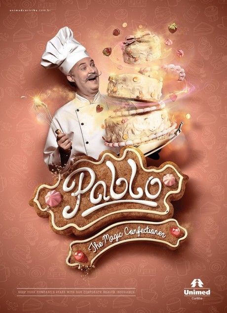 Inspiration Pablo The Magic Confectioner Poster Advertising Creative Advertising Graphic Poster Motion Graphics Design