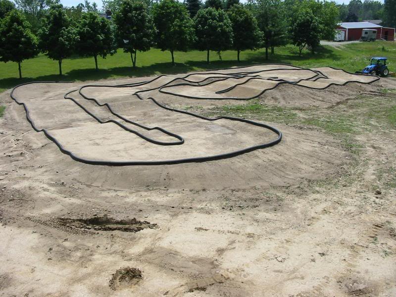 Rc Car Track: Backyard R/C Track
