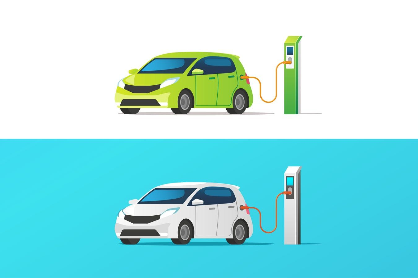Electric car by faber14 on electric cars car vector car