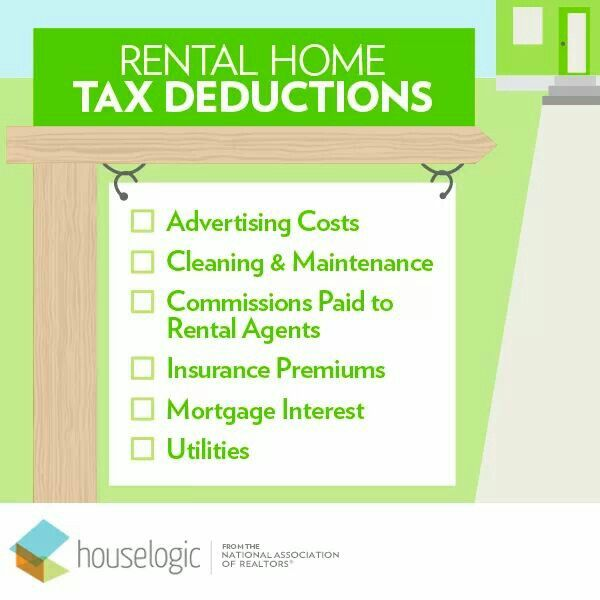 Rental Homes Tax Deductible Rental Taxes Deduction Rental