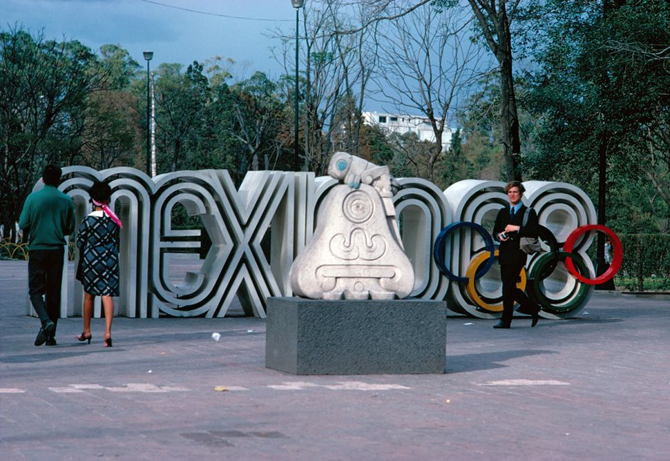 1968 Mexico Olympics Logo and Brand Identity by Lance