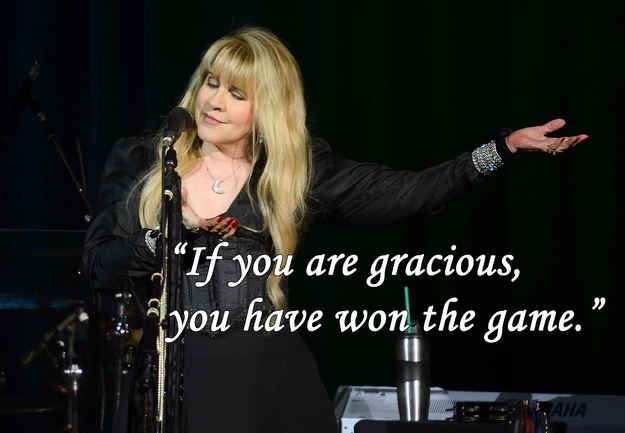On Kindness Stevie Nicks Quotes Stevie Nicks Stevie