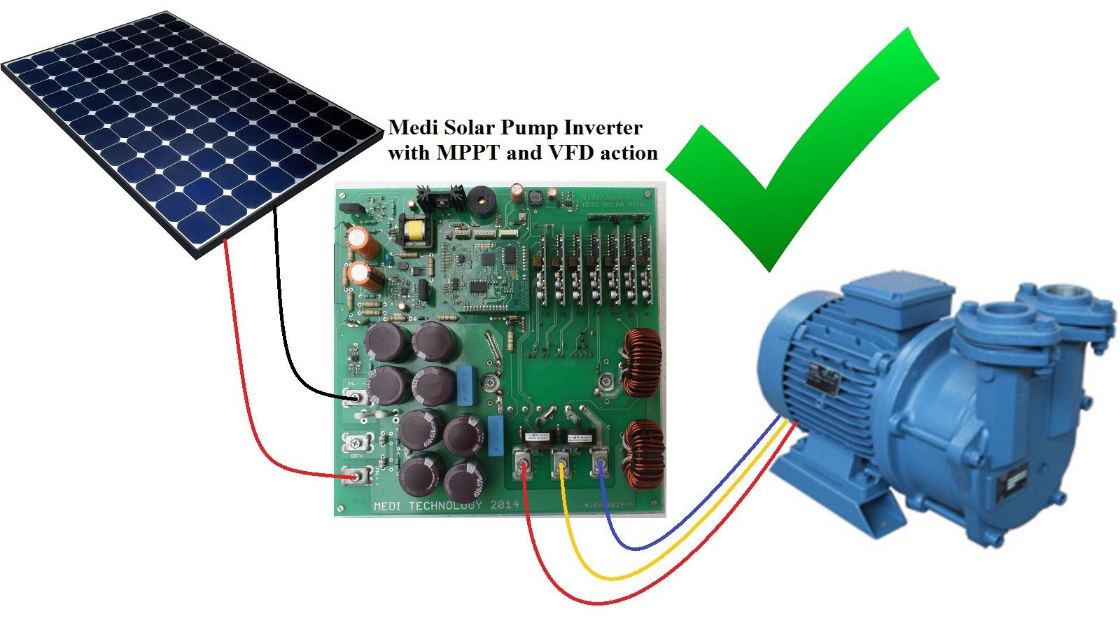 3 Phase Solar Pump Inverter With Mppt And Vfd 2 Preparation Common 3phase Circuit