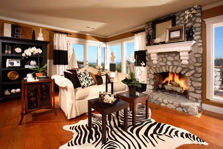Home stratosphere 17 zebra living room decor ideas pictures