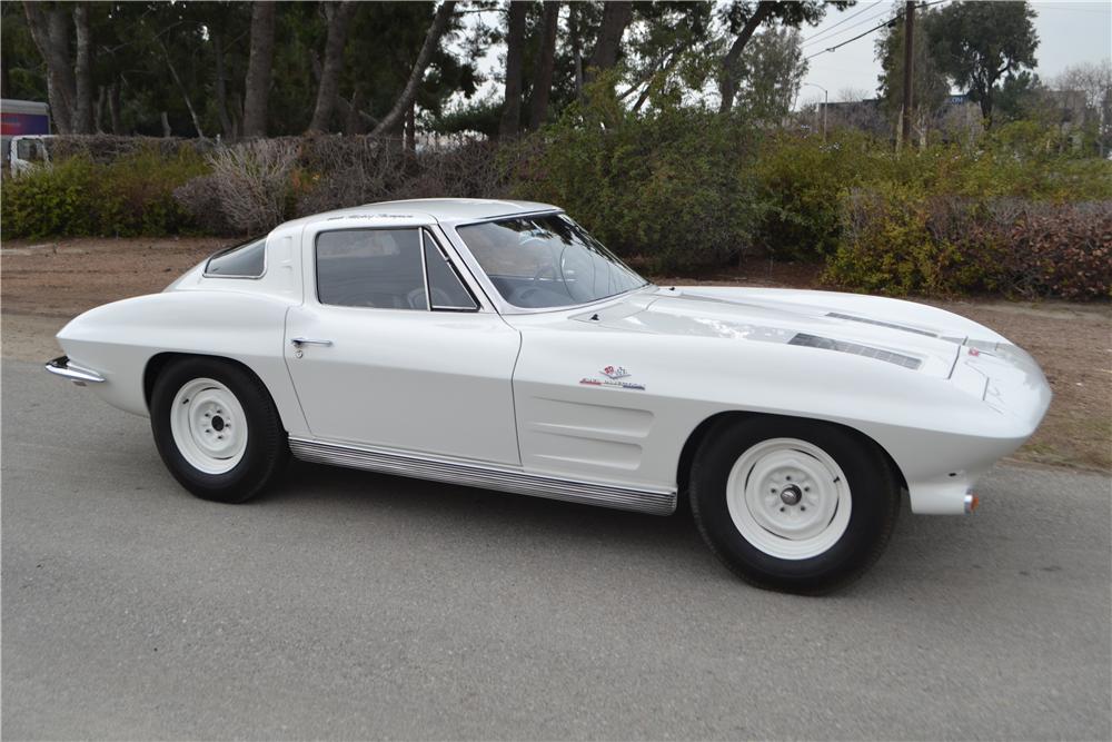 1963 Chevrolette Corvette Z06 Mickey Thompson Big Tank Coupe ...