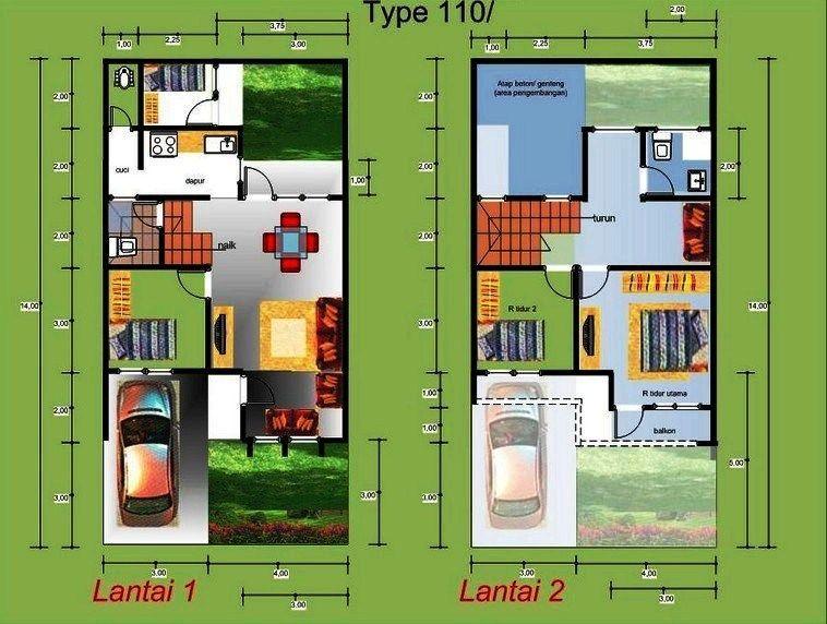 Denah Rumah Mewah 2 Lantai 3d - Content