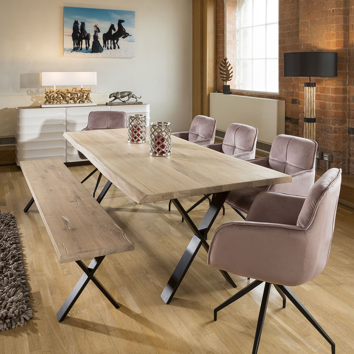 24++ Dining table and chair bench set Ideas