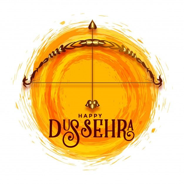 Download Creative Happy Dussehra Festival Greeting