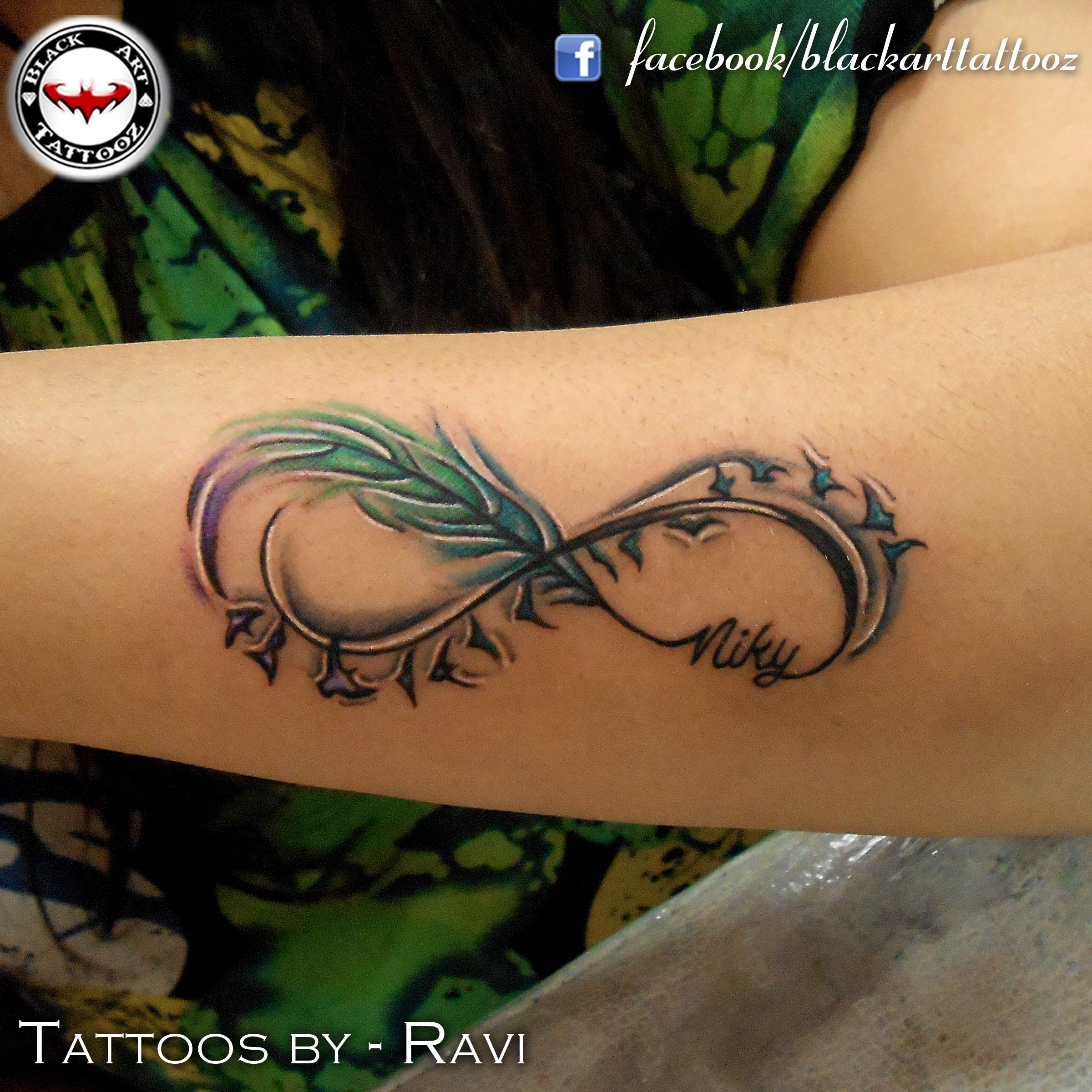 21 Infinity Sign Tattoos You Won T Regret Getting: Hakuna Matata Instead Of The Birds!