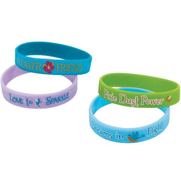 Tinkerbell Rubber Bracelet | 4 ct