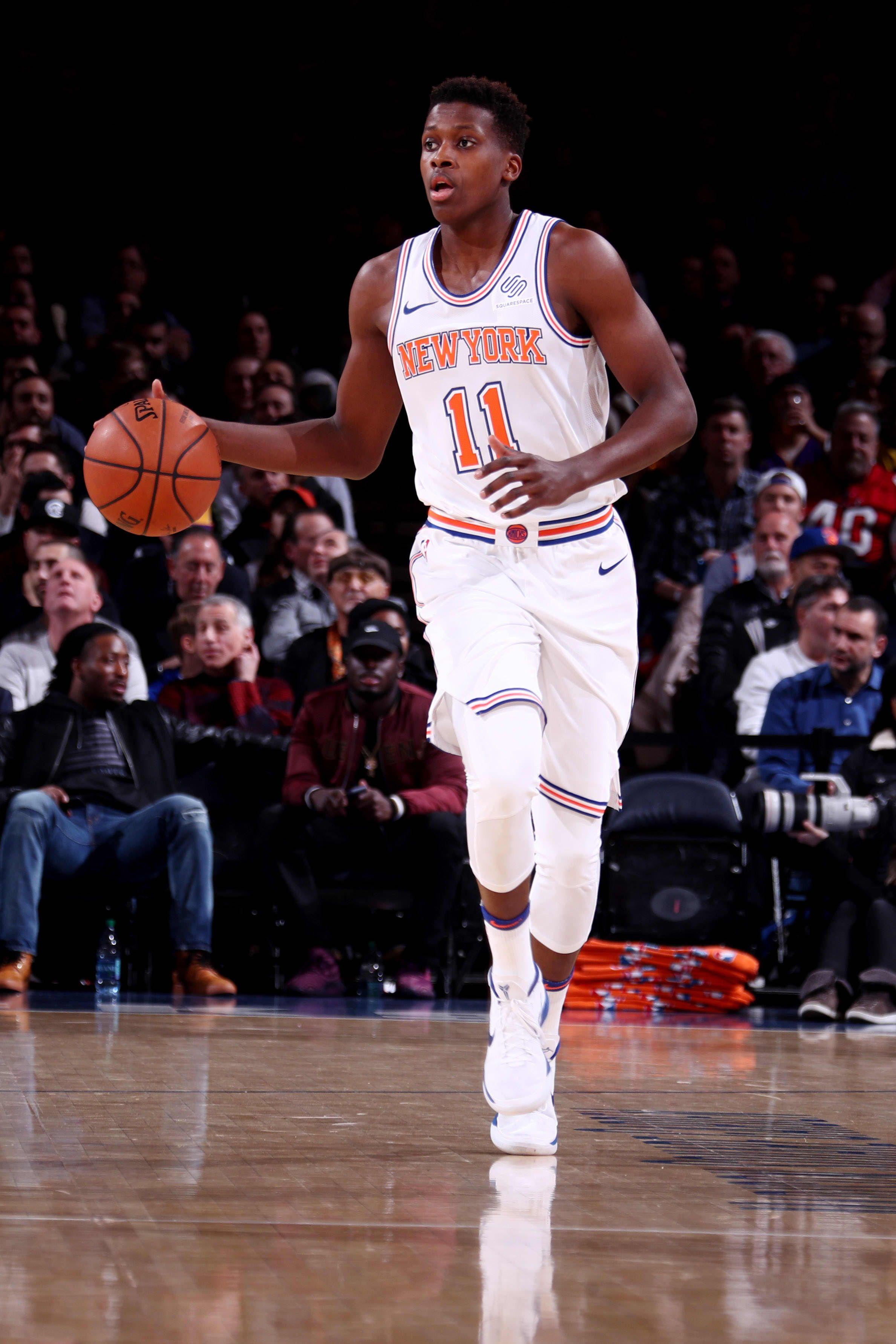 Frank Ntilikina New York Knicks New York Knicks Nba