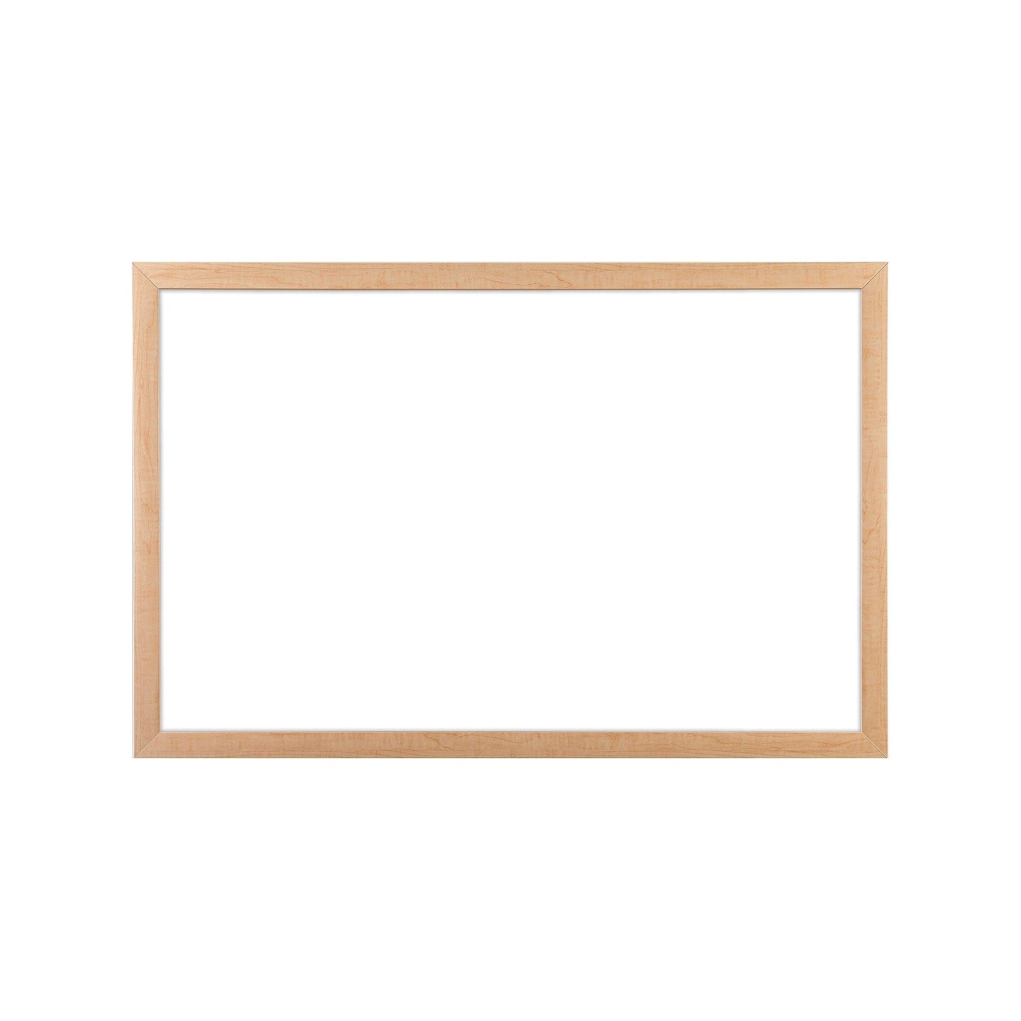 U Brands Cork Bulletin Board, 35 x 23 - Light Birch Wood Frame ...