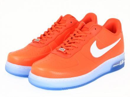 1e752c37d13 NIKE AIR FORCE 1 FOAMPOSITE PRO LOW QS SAFETY ORANGE WHITE  sneaker