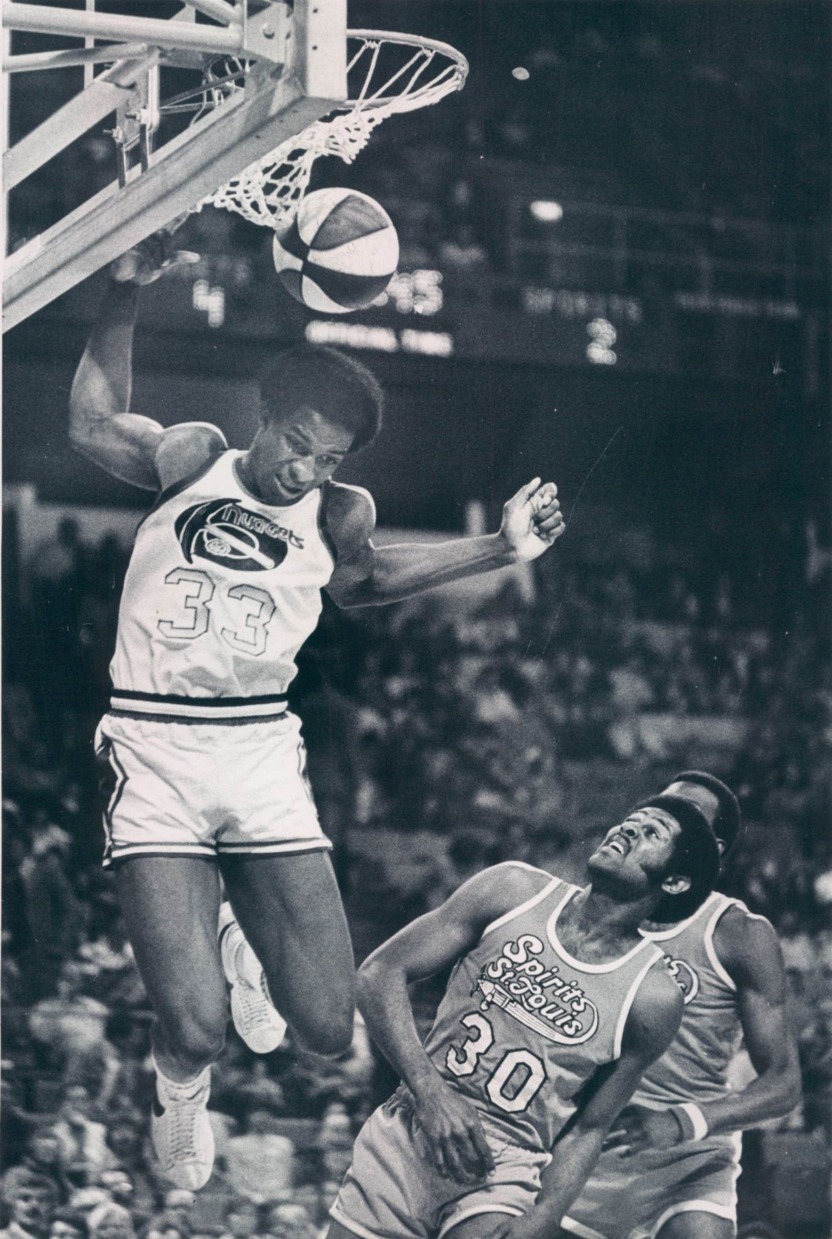 David Thompson The Skywalker David Thompson Aba Basketball Players