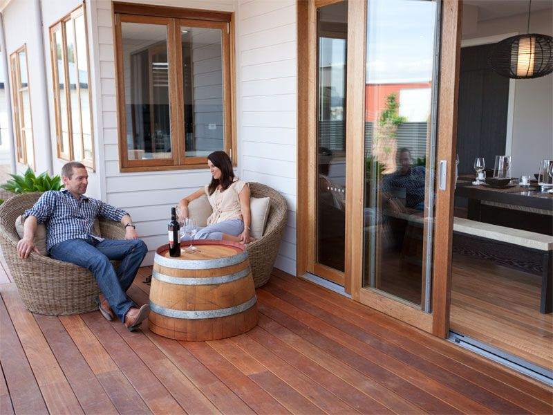 What better way to relax than on your very own outdoor deck? - All Steel Transportable Homes #allsteelAU #house #home #deck