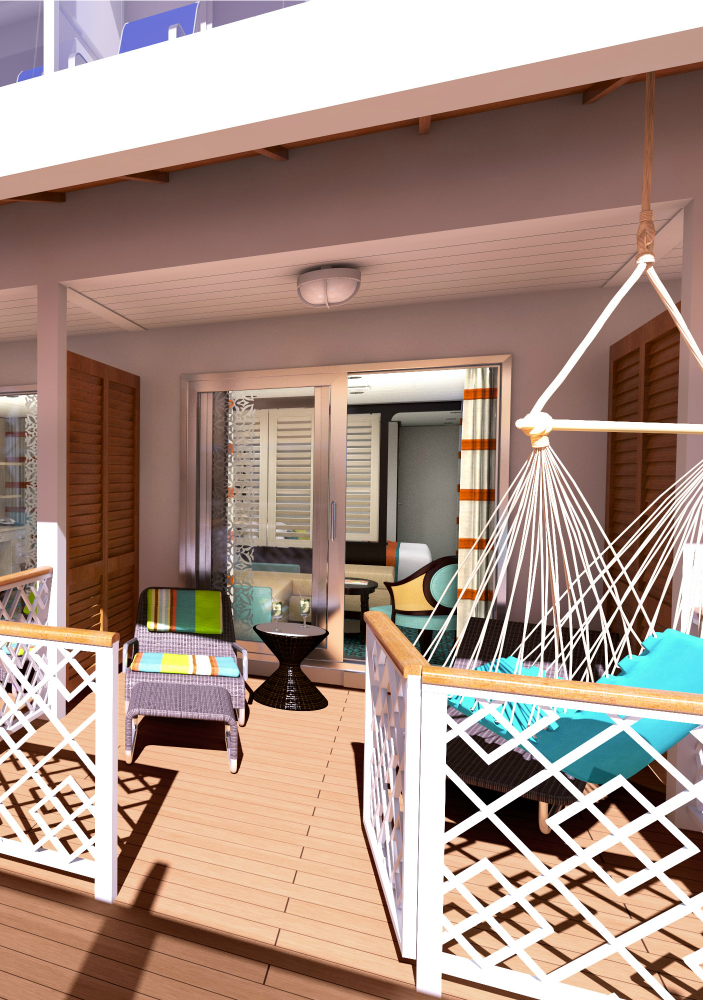 Our Favorite Thing About Carnival S Newest Ship The Vista Are The Havana Cabana Cabins With Lanais Carnival Vista Carnival Sunshine Deck Plans Carnival Ships
