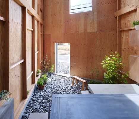 Inside Out House with Inner Garden | Pinterest | Japanese modern ...