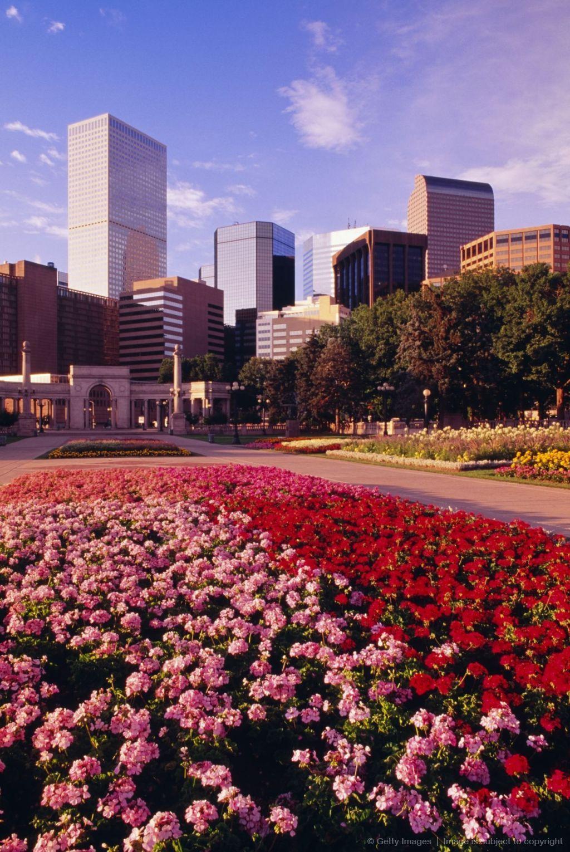Downtown Denver, Colorado. Three Separate Trips To Denver