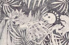 Muerte en vida ilustración de Hanako Mimiko