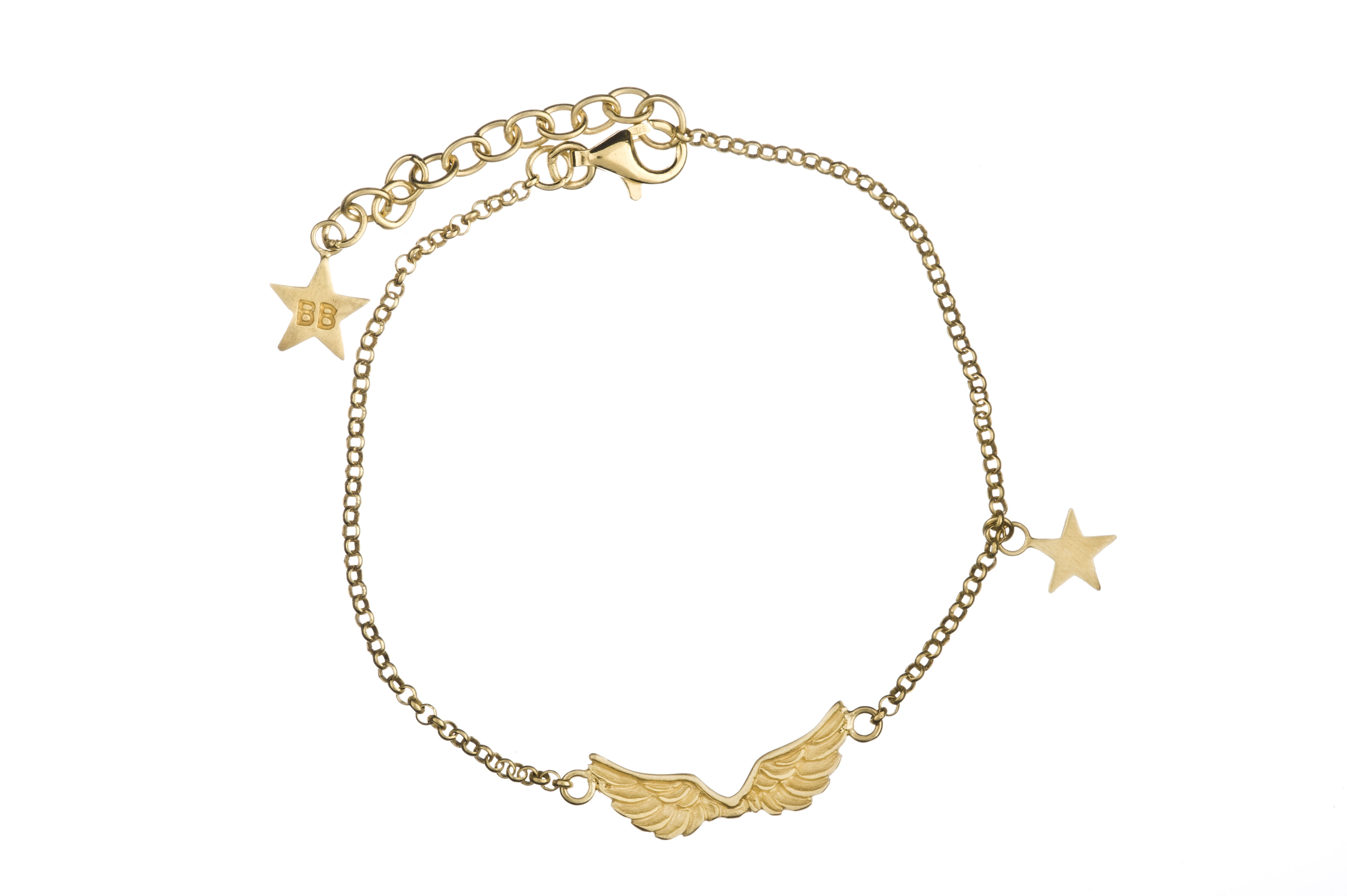 Wings Bracelet Gold Plated by Betty Bogaers http://www.bettybogaers.com