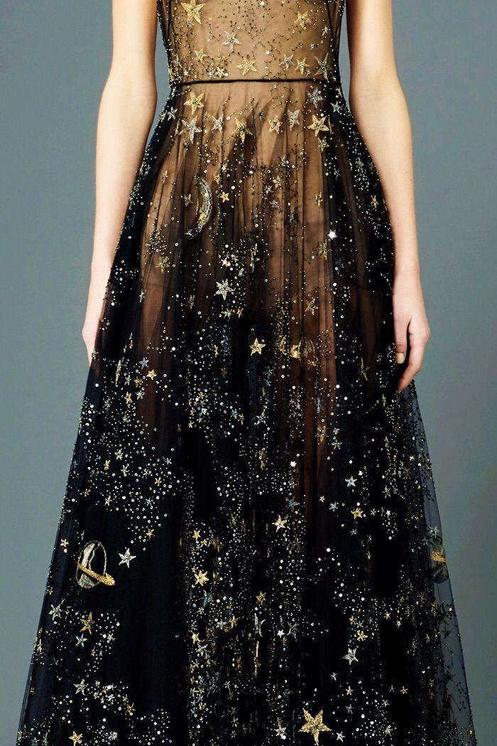 Valentino \\ Black with Stars
