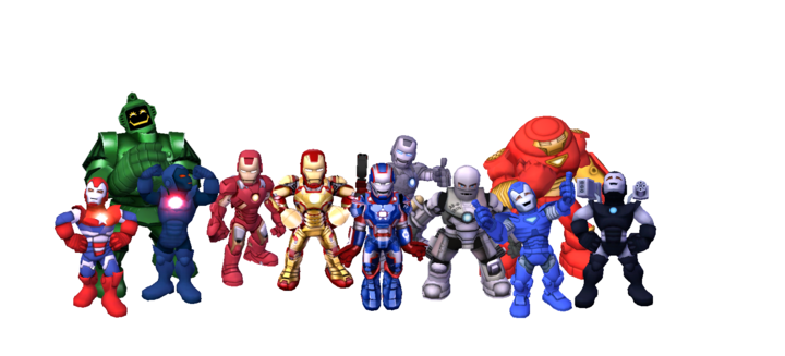 Marvel Super Hero Squad is an action figure line marketed