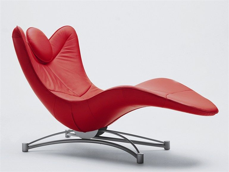 Leather lounge chair chaise longue ds 151 design jane for Chaise longue leather