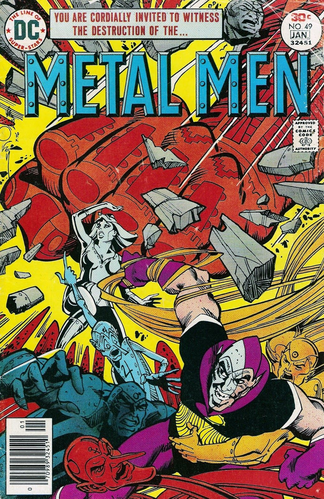 """Diversions of the Groovy Kind: Metal Mondays: """"The Dark God Cometh"""" by Pasko and Simonson"""