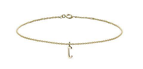 Minor Obsessions •  Letter C Charm Bracelet
