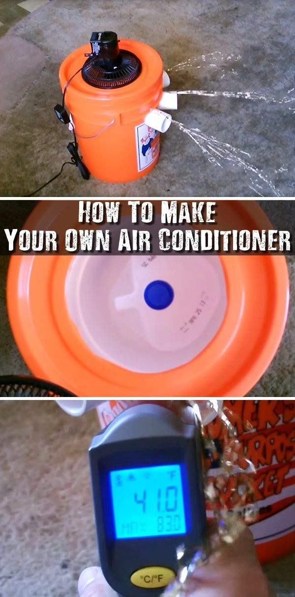 How To Make Your Own Air Conditioner Diy air conditioner