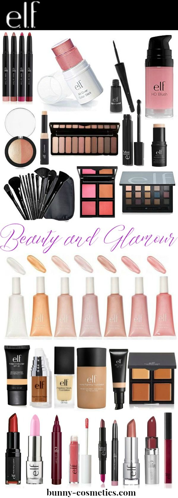 Elf Cosmetics is the best high quality drugstore brand