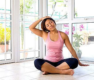 legs up the wall  yoga poses sore neck health fitness