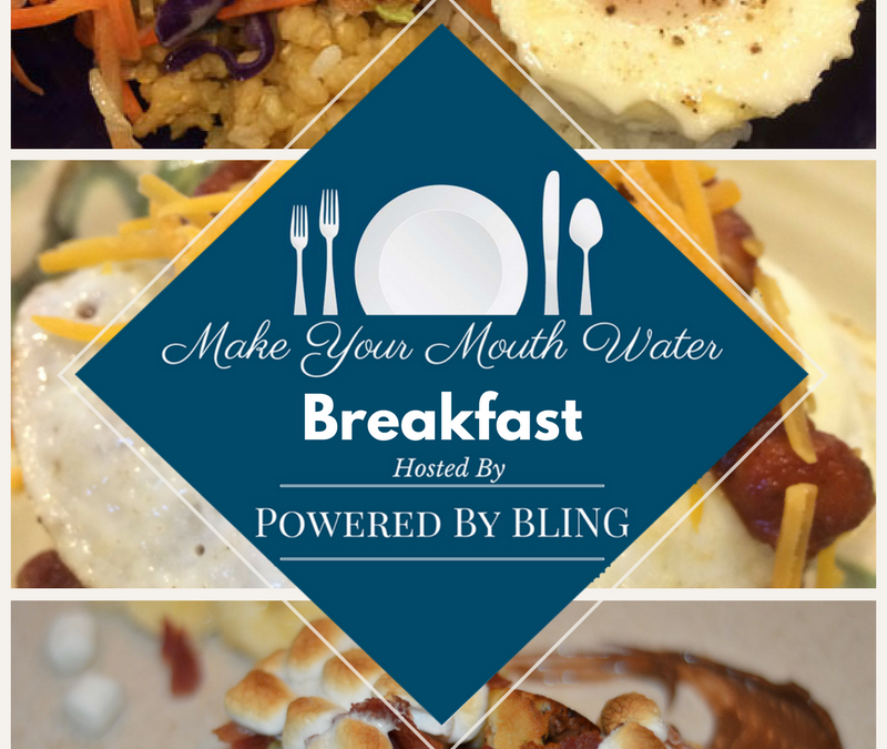 Make Your Mouth Water: Breakfast. Need a recipe idea to ramp up your breakfast? This list will add a flavor kick that will get your engine running in the morning. - Powered By BLING
